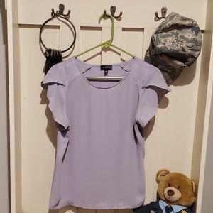 Womens purple top
